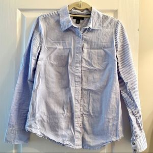 Tommy Hilfiger mixed stripe Oxford shirt